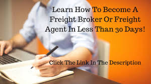 Freight Broker Profits! It's EASY!Watch The Video! - YouTube