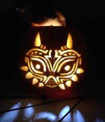 Legend Of Zelda Pumpkin Template by 11 Best Loz Skull Kid Costume Images On Pinterest Character