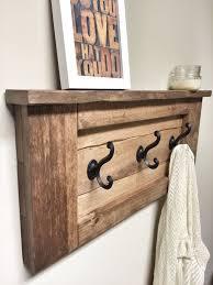 Coat Racks Decorative Amazon Furniture Wooden Wall Hooks Rack Awesome