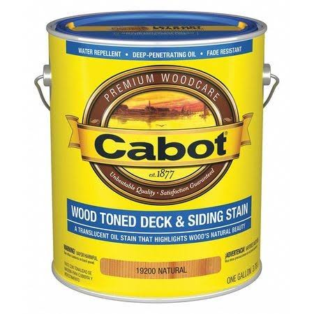 Cabot Wood Toned Deck and Siding Stain Woodcare - 1 Gallon