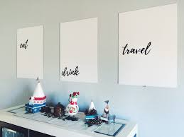 Dining Room Wall Art DIY Decor On A Budget