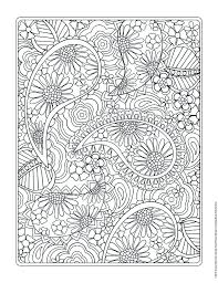 Coloring Book Flowers Pictures In Gallery Pages