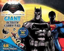 Booktopia Batman Vs Superman Giant Activity Pad