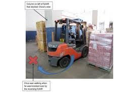 100 Fork Truck Accidents Logistics Firm Fined 80000 Over Accident Where Forklift Ran Over
