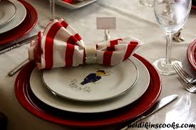 Setting A Christmas Table With Pottery Barn Reindeer Plates ... Vintage Halloween Colcblesdecorations For Sale Pottery Barn Host Your Party In Style Our Festive Dishes Inspiration From The Whimsical Lady At Home Snowbird Salad Plates Click On Link To See Spooky Owl Bottle Stopper Christmas Thanksgiving 2013 For Purr03 8 Ciroa Wiccan Lace Dinner Salad Plates