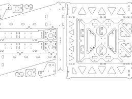 p3steel lasercut version 2 01 by andrewbcn thingiverse