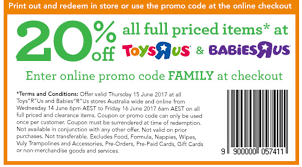 On Sale: 20% Off At Toys R Us   Bricking Around Toys R Us Coupons Codes 2018 Tmz Tour Coupon Toysruscom Home The Official Toysrus Site In Saudi Online Flyer Drink Pass Royal Caribbean R Us Coupons 5 Off 25 And More At Blue Man Group Discount Code Policy Sales For Nov 2019 70 Off 20 Gwp Stores That Carry Mac Cosmetics Toysrus Store Pier One Imports Hours Today Cheap Ass Gamer On Twitter Price Glitch 49 Off Sitewide Malaysia Facebook Issuing Promo To Affected Amiibo Discount Fisher Price Toys All Laundry