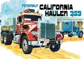 """AMT Peterbilt 359 """"California Hauler"""" Conventional 1/25 - Extreme ..."""