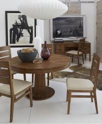 chagne 5 piece round dining room furniture set furniture macy s