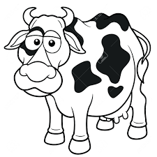 Glassjaw Coloring Book Lyrics Vector Illustration Cow Cartoon Stock Pages Corruptions Mickey Mouse Full Size