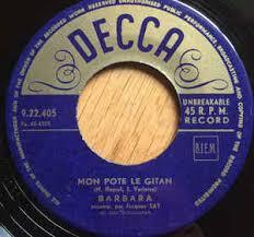 mon pote le gitan barbara 5 mon pote le gitan l œillet vinyl at discogs