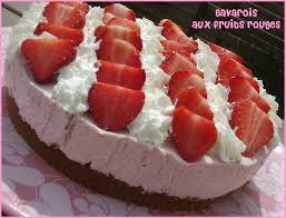 dessert aux fruits rapide bavarois aux fruits rouges le de mélissa
