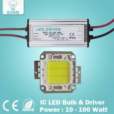 real watt 10w 20w 30w 50w 100w high power cob led l chips