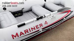 Intex Excursion 5 Floor Board by The New Intex Mariner 4 Inflatable Raft Youtube
