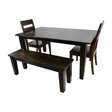 54 off crate and barrel crate barrel basque java dining table
