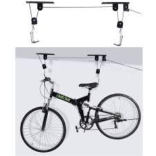 Garage Ceiling Kayak Hoist by New Bike Bicycle Lift Ceiling Mounted Hoist Storage Garage Hanger