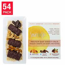 Smart For Life Variety Low Sugar Protein Bars