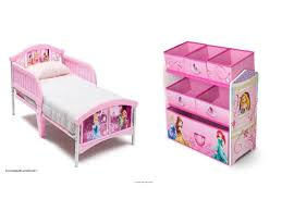 Disney Princess Bedroom Furniture by Disney Princess Toddler Bed Toy Storage Bin Canopy Organizer Kids
