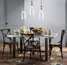 astonishing kitchen table lighting using clear glass l