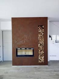 raffinierte rostoptik für wände mit dem besonderen touch
