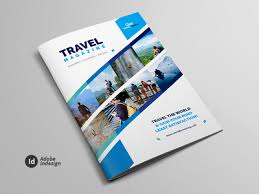 Travel Guide Brochure Magazine Lookbook