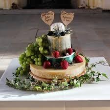 Cheese Wedding Cakes Rustic