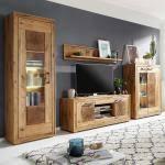 rustikale wohnzimmermöbel günstig kaufen ladenzeile