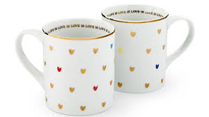 """HRC And Williams-Sonoma Partner To Create """"Love Is Love"""" Mug ... The 25 Best Cream Tea Mugs Ideas On Pinterest Grey Pottery Barn Rudolph Red Nose Reindeer Coffee Mug Cocoa Tea 97 Coffee Images Ceramics Cups Cupid Christmas Valentine Gift 858 Mugs Ceramic Dishes And Intertional Brotherhood Of Teamsters Logo Handcraftd Weekend Luxuries Lazy Saturday Morning House Two Large Cups Whats It Worth 28 Deannas Pottery Letter Perfect Win One Our Alphabet Juneau Alaska Mug Handmade Signed By Toms Pots Blue Amazoncom Jaz French Country Vintage Style Metal"""