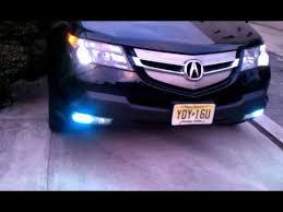 mdx with h i d fog lights