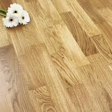 3 Strip Lacquered Engineered Rustic Oak Click Wood Flooring 318m2