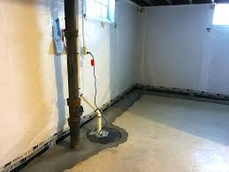 tile view how to install interior drain tile in basement home