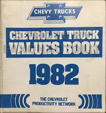 100 Truck Book Value 1982 Chevrolet Guide Sales Training Album Original