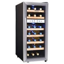 tresanti madison 24 bottle dual zone wood wine cooler remodeling