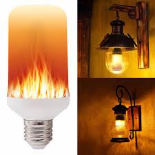e27 e26 2835 led effect light bulbs 7w creative lights