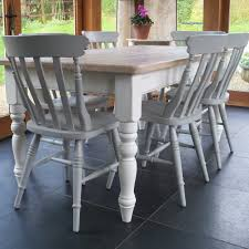 Chilmark Painted Farmhouse Table And Cottage Chairs