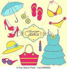 Summer Wear Clipart 1