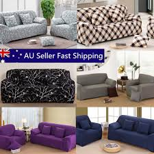 1 2 3 4 seater l shape stretch chair loveseat sofa couch protect