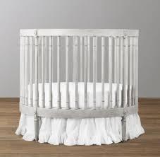 Round Bassinet Bedding by Ellery Round Crib U0026 Mattress
