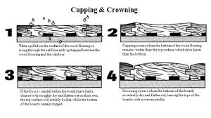 Wood Floor Cupping In Winter by Wood Flooring Glossary Palo Duro Hardwoods Blog