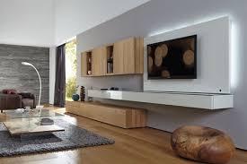 ein klares puristisches gesamtkonzept zeichnet die wohnwand