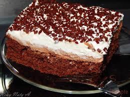 nutella kuchen mit schlagsahne