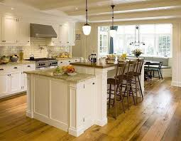Peerless Galley Kitchen With Island At End Also Ceramic Subway Tile For Backsplash Under