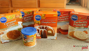 Cake Mix And Pumpkin by Lick The Bowl Good Fall I Welcome You