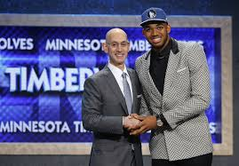 Karl Anthony Towns D Angelo Russell go No 1 and No 2 at NBA