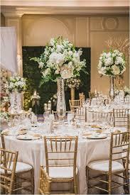 White Gold Green Wedding Ideas