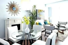 Dining Room Small Space Living Combo