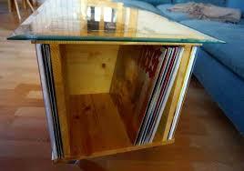 glastisch mit rollen für 80 lps