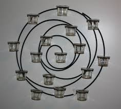 Pottery Barn Bathroom Wall Lights by Spiral Candle Holder Wall Sconce Thesecretconsul Com
