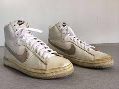 OG NIKE BLAZER Hi Top 1984 Vintage Shoe JAMMER Sneaker Leather Basketball US 75