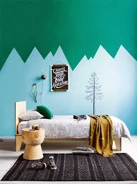 Mountain Scape Kids Room